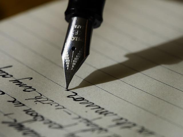 面接後のお礼状の書き方について