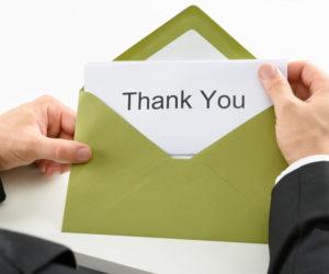 面接後にはお礼を伝えて印象アップ!お礼状の書き方とは?